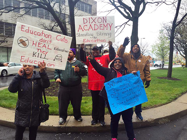 Rally for Detroit schools